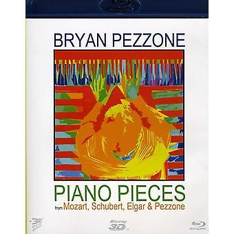 Piano stykker fra Mozart Schubert Elgar & Pezzone [BLU-RAY] USA importere