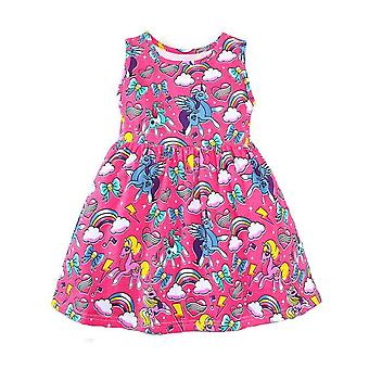 Party Dress, Rainbow And Unicorn Design, Infant