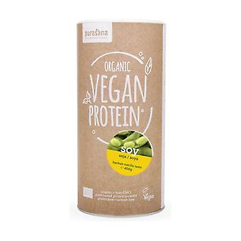 Soy protein with baobab and vanilla 400 g of powder