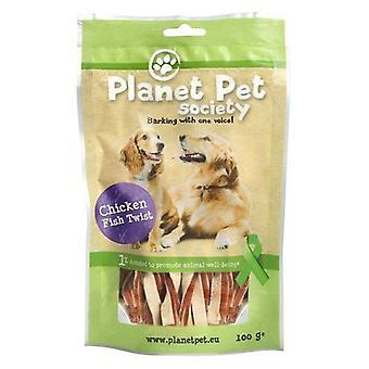 Planet Pet Snack Twist Pollo y Pescado (Dogs , Treats , Chewy and Softer Treats)