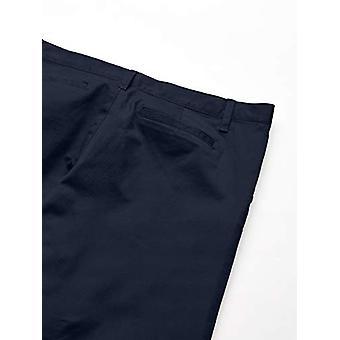 Essentials Girl's Plus Uniform Chino Pants, Navy Blue, 16(P)