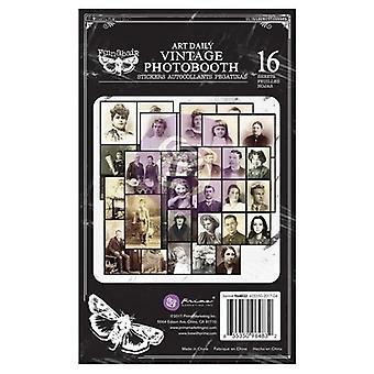 Finnabair Vintage Photobooth Sticker Pad