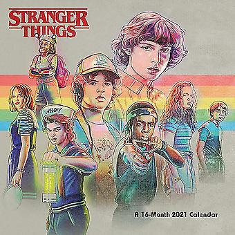 Stranger Things Calendar 2021 Official Calendar 2021, 12 months, original English version.