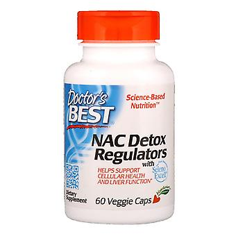Doctor's Best, NAC Detox Regulators, 60 Veggie Caps
