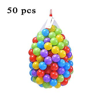 Colorful Ball Toys, Inflatable Soft Plastic Ocean Ball Eco-friendly Infant Baby
