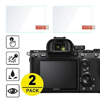"2x Tempered Glass-screen-protector For Sony A7 Ii""iii"