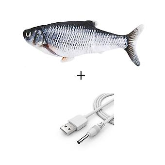3d Fish Electric Usb Charging Simulation Fish Cats Toys For Pet- Supplies Juguetes Para Gatos
