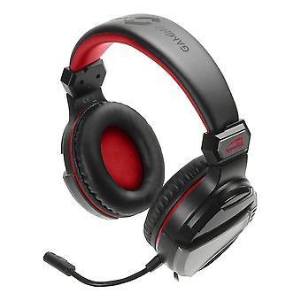 Speedlink Neak Stereo Gaming Headset with Microphone Dual Jack Plug Black/Red