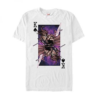 Marvel X-Men's Gambit Card Throw Camiseta