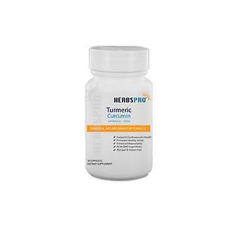 HerbsproBrand Turmeric Curcumin, 30 Caps
