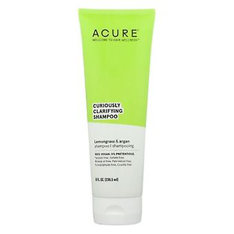 Acure Curiously Clarifying Shampoo, Lemongrass & Argan 8 Oz