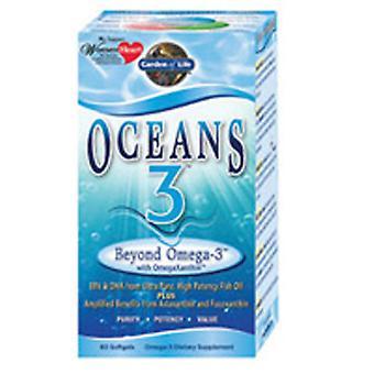 Garden of Life Oceans 3, Beyond Omega 3 60 Softgels