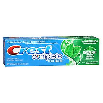 Crest Complete Whitening Expressions Fluoride Anticavity Toothpaste, Extreme Herbal Mint 6 oz