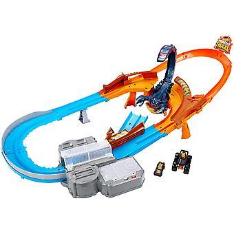 Hot Wheels Monster Trucks - Scorpion Sting Raceway Playset