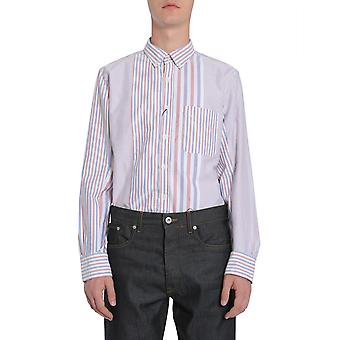 Tommy Hilfiger Mw0mw04324904 Men's Multicolor Cotton Shirt