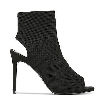 Bar III Womens Nilla Fabric Open Toe Ankle Fashion Boots