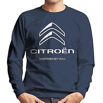 Citro?n 2016 White Logo Inspired By You Men's Sweatshirt