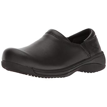 MOZO Mens Forza Leather Soft toe Slip On Safety Shoes