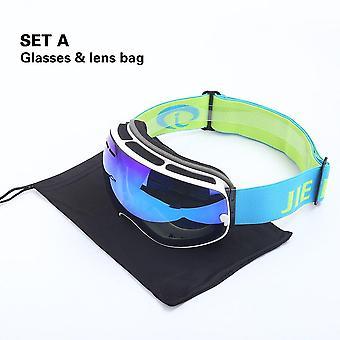 Winter-Schneesport, Anti-Nebel, Uv-Schutz, Kugelmagnetbrille