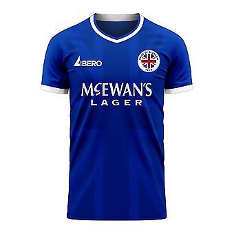 Glasgow 2020-2021 Home Concept Football Kit (Libero) - Kids