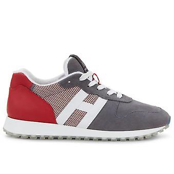 Mænds Sneakers Hogan H383 Grå og Rød