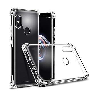 Stuff Certified® Xiaomi Redmi Note 5 Transparent Bumper Case - Clear Case Cover Silicone TPU Anti-Shock