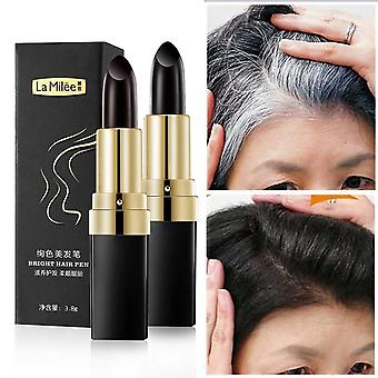 Hair Dye Instant Gray Root Coverage - Hair Color Modify Cream Stick