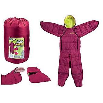 Summit Featherlight Onesie Sac de couchage Suit Large Berry