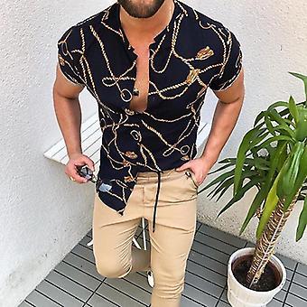 Men & apos;s قميص عارضة طويل الأكمام الرسمية قميص اللباس