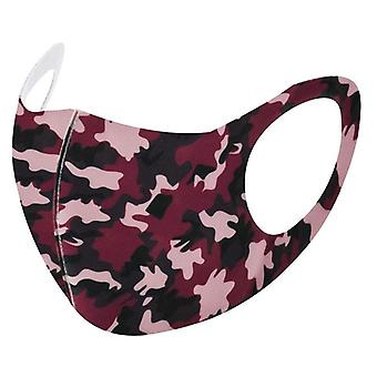 1pc Outdoor Camouflage Breathable Reusable Colorful Fabric Face Mask