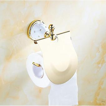 WC-paperiteline, pyyhepalkki ja hyllyharjan pitimet Kylpylaitteisto