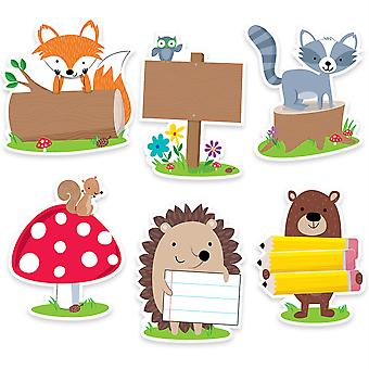 "Woodland Friends 6"" Designer Cut-Outs, 36/Pack"