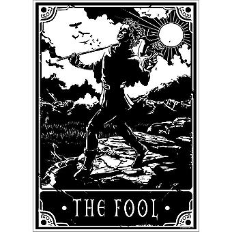 Deadly Tarot The Fool Poster