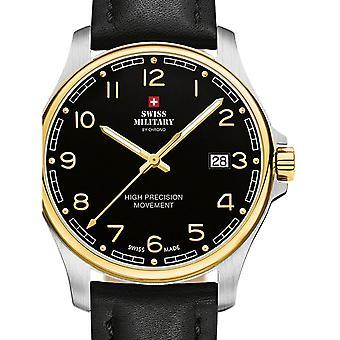 Reloj masculino militar suizo por Chrono SM30200.27, cuarzo, 39 mm, 5ATM