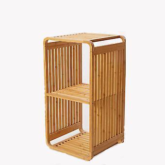 Bambus-Boxen Schrank