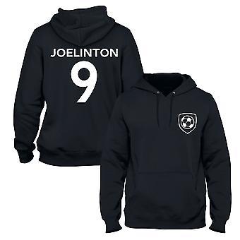 Joelinton 9 نيوكاسل ستايل لاعب كرة القدم هوديي
