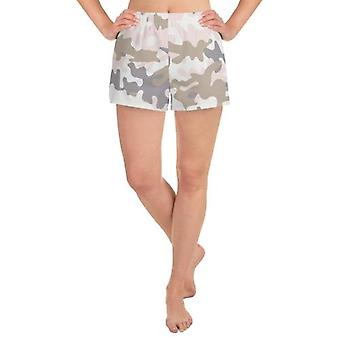 Pastell Camo Frauen's Athletic Shorts