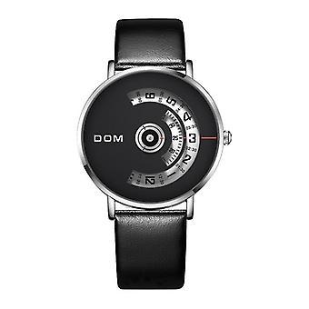 DOM M-1303 أزياء الرجال مشاهدة الطلب الإبداعي 3ATM ماء كوارتز ووتش