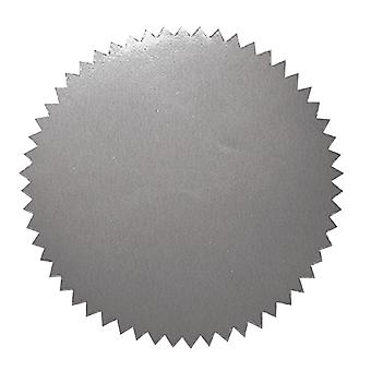 """2"""" Blank Silver Stickers, 50 Per Pack"""