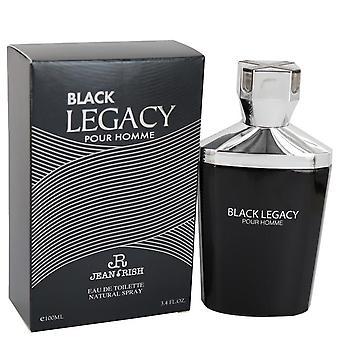 Black Legacy Pour Homme Eau De Toilette Spray By Jean Rish 3.4 oz Eau De Toilette Spray