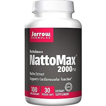 Jarrow Formulas NattoMax 2000 FU 100mg Vegicaps 30