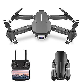 Wifi fpv 4k drone rc quadcopter modo sin cabeza retención gesto foto pista vuelo 3d flip plegable