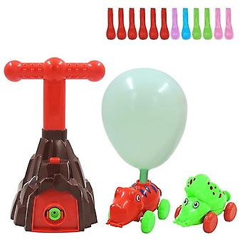 Educational Science Experiment Inertial Power Balloon Car Toy