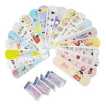 Waterproof Cartoon Bandages Stickers (120pcs)