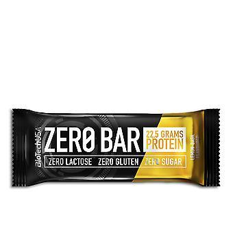 Biotech Verenigde Staten Zero Bar Barrita #chocolate-mazapan 50 Gr Unisex