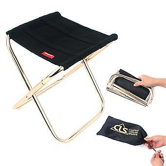 Lightweight Fishing  Hiking Camping Folding Small Stool Seat / Chair