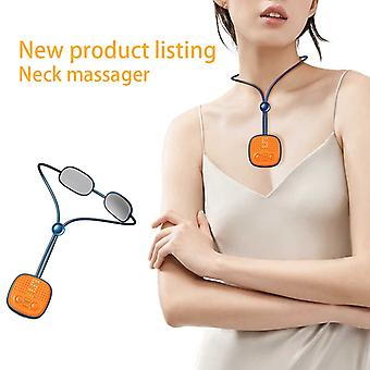Nackmassage Intelligent bärbar puls 4D sladdlös triggerpunkt djup vävnad massage med användning på hemmakontoret utomhusbil
