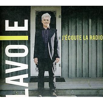 Daniel Lavoie - J Écoute La Radio [CD] USA import