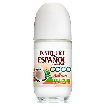 Instituto Español Desodorante Roll On Coco 75 ml