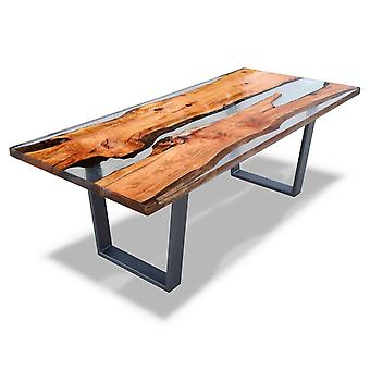 Epoxy Dining Table Top,solid Wood Table